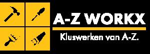 AZ Workx logo contact klusjesman